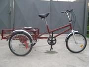 Велосипед трёхколёсный грузовой,  велорикша