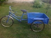 Трёхколёсний велосипед