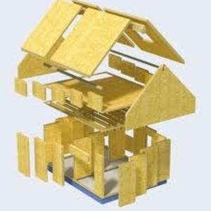 Комплекты домов из сип/sip панелей для самостоятельной сборки.