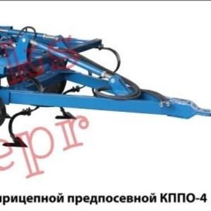 Культиватор с боронами и катком КППО-4
