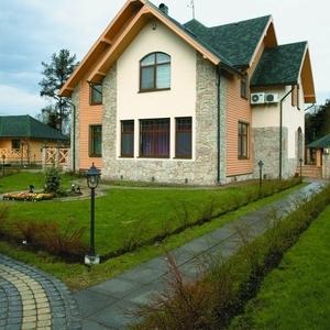 Изготовление и монтаж дома из СИП-панели.Канадская технология.