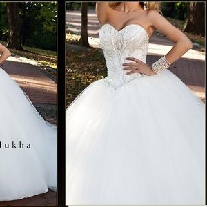 Дизайнерское свадебное платье от Oksana Mukha